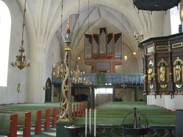 kalix-church-interior