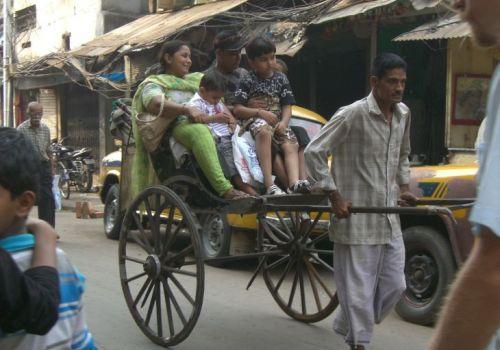 The Kolkata Tana Rickshaws