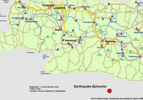 Quake Hit Far Away