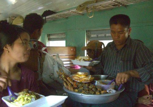 1st Class Train Restaurant