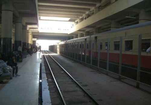 Mandalay to Myitkyina by Train