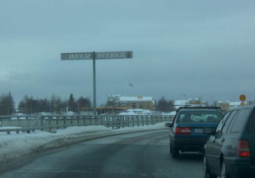 Crossing a Border to Cross a Border