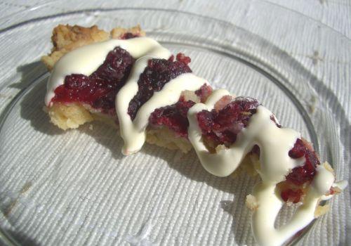 Birgitta's Raspberry Pie