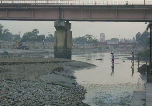 Haridwar = Hardly Any River