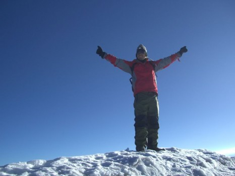 Martin at the summit of Stok Kangri in India - click on this photo to send him an email