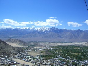 View from the Gompa above Leh