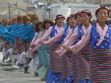 Being blown away by the tradition and beauty of Leh in northern India