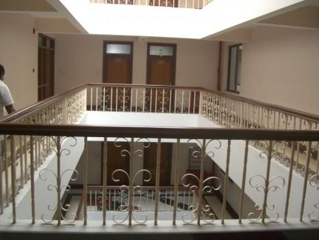 Exterior of full service apartment