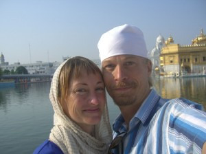 Us at the Golden Temple
