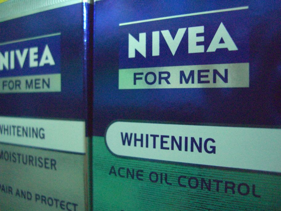 Men's whitening cream