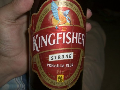 Kingfisher red