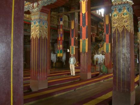 Tawang Gompa interior