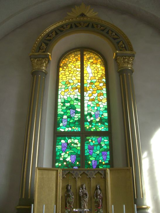 Kalix church stained glass window