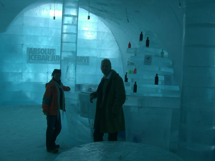 Icebar in the Ice Hotel