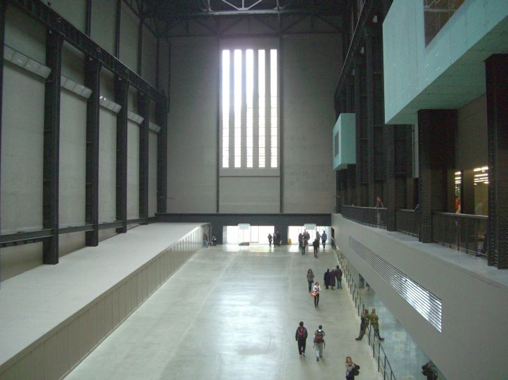 The amazing Turbine Hall of London's Tate Modern
